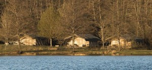 bungalowtenten op camping frankrijk